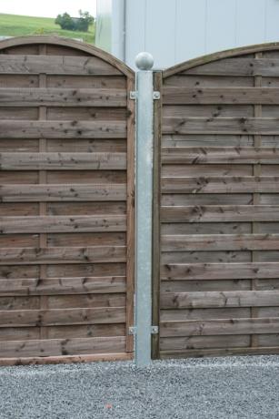 Holzzaunpfosten Vierkantrohr Karl Hudez Gmbh Wiggensbach